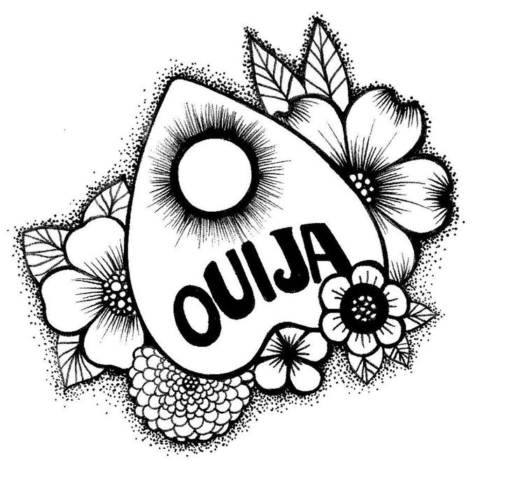 image regarding Printable Ouija Boards referred to as Ouija Board Drawing at  Cost-free for individual