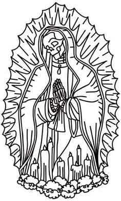 236x393 Our Lady Of Guadalupe Embroidery Things I'Ve Made