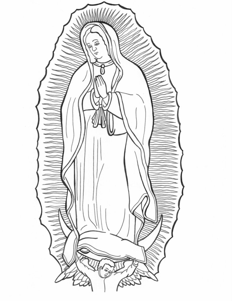 786x1017 Our Lady Of Guadalupe By Horishi