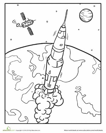 350x440 Slideshow Exploring Outer Space Colouring Pages, Mazes