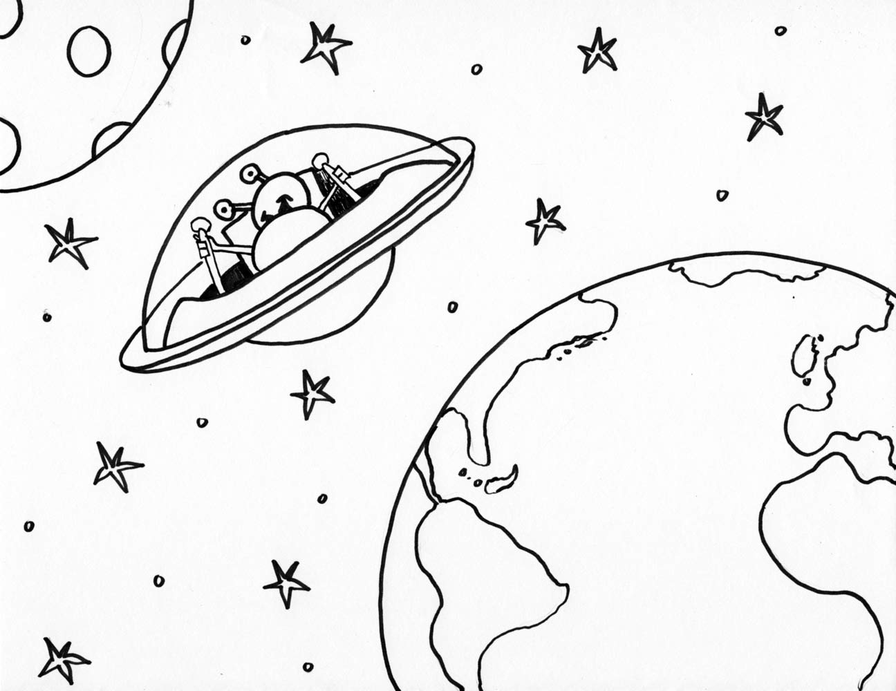 1296x1000 Tooning For Tots Volume 14 Outer Space,ner Turtles Art