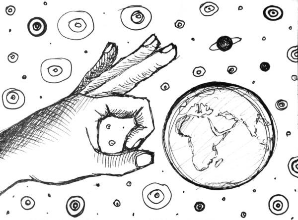 600x444 Cosmos Drawing By Uljado