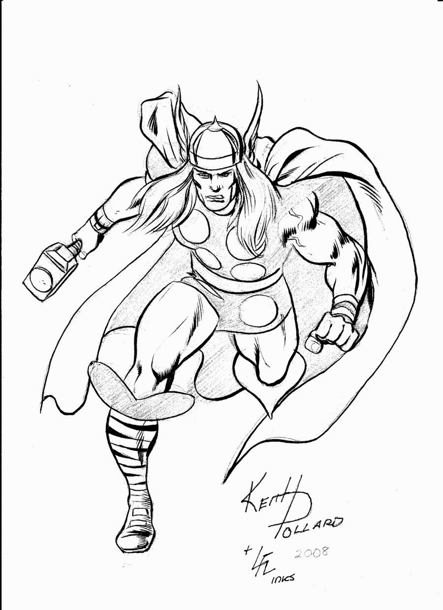 900x1238 Smartness Ideas Thor Outline Coloring Pages Drawing Hammer Movie