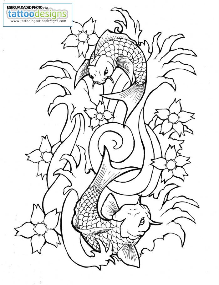 700x908 Fish Outline Drawing Many Interesting Cliparts