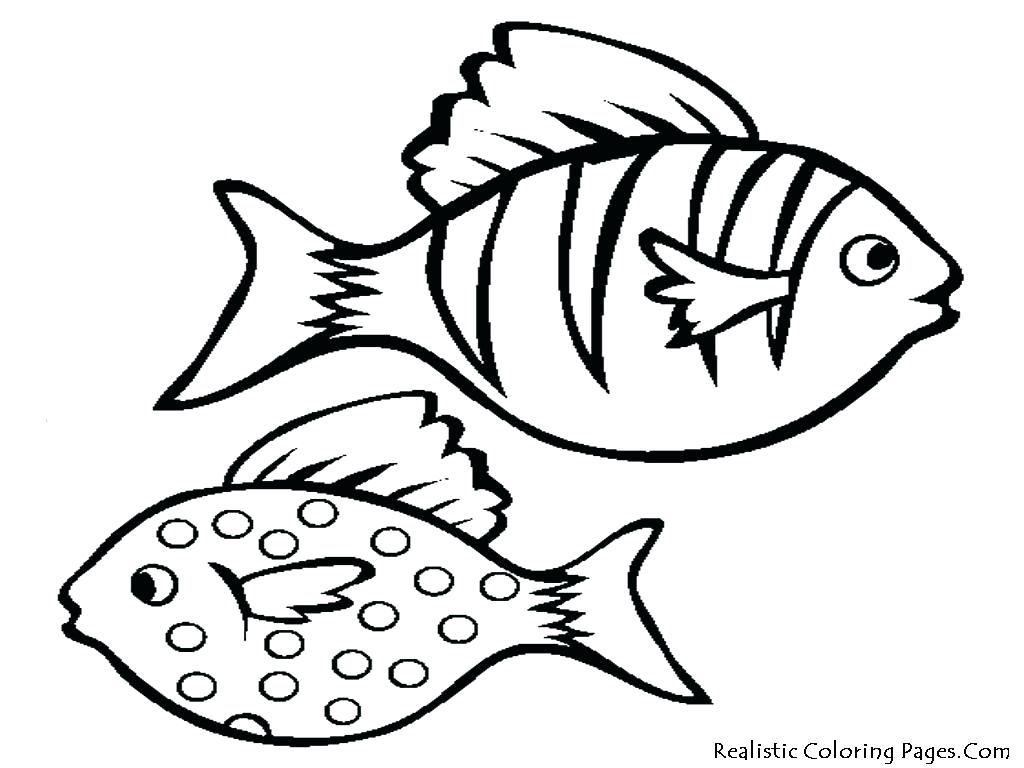 1024x768 Coloring Coloring Pictures Of Fish Bowl Printable 6 Pages Fishing