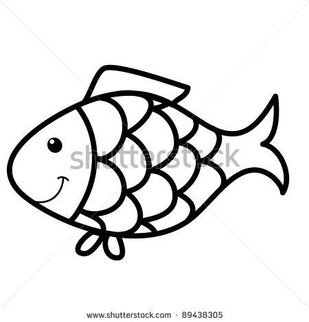 450x470 Easy To Draw Fish How To Draw An Easy Fish Step 5 For Details