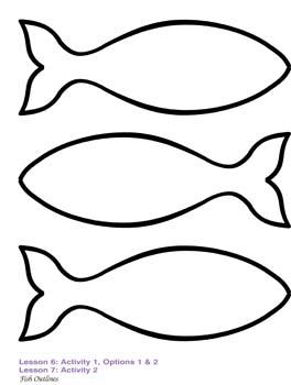 fish shape outline