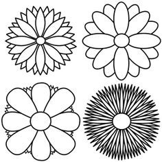 236x236 Coloring Pages Easy Flower To Draw Rose Outline Drawings