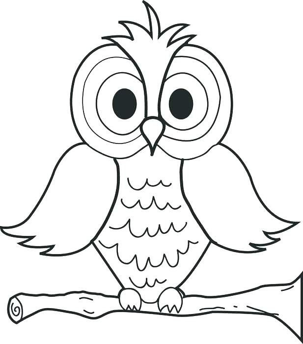 617x700 Free Coloring Pages Of Owls Coloring Page Of Owl Cartoon Owl