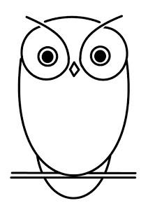 222x320 How To Draw Cartoons Owl