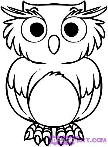 356x481 Owl Cartoon