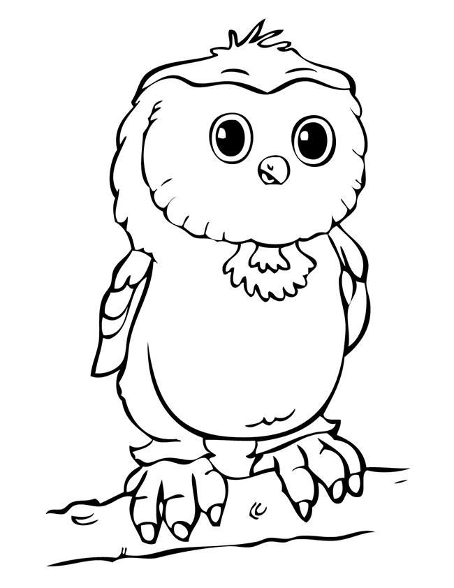 650x842 Owl Template