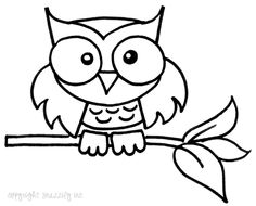 236x190 Best Photos Of Cute Owl Outline To Trace