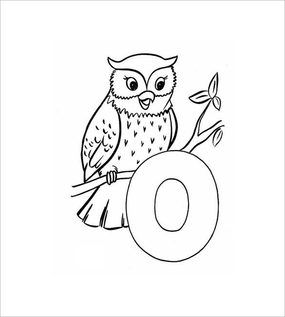 585x650 Owl Template