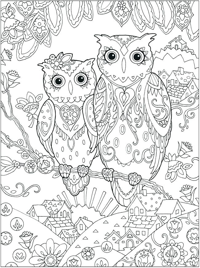 650x872 Owl To Color Owl Drawing Sketches Owls Coloring Book Pdf