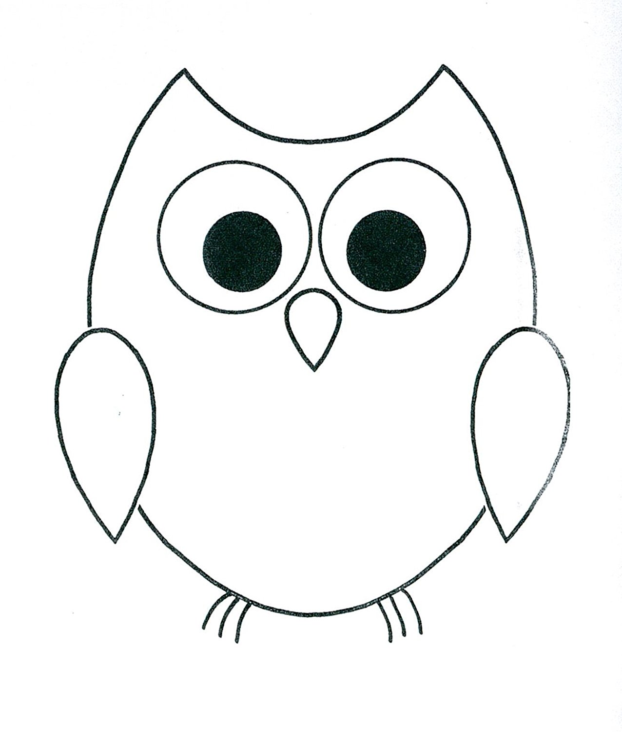 Owl Drawing Cute at GetDrawings.com | Free for personal use Owl ...