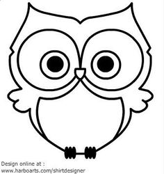 236x250 Simple Owl Drawing