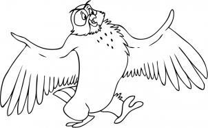 302x187 How To Draw How To Draw Owl From Winnie The Pooh