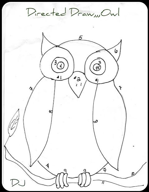 479x619 The Homeschool Voyager Let's Draw Owls!