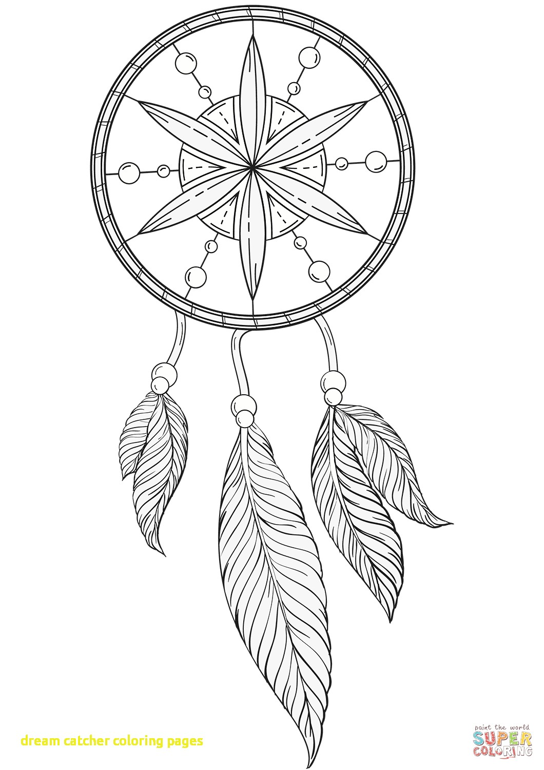 1060x1500 Dream Catcher Coloring Pages With Owl Dreamcatcher Animals