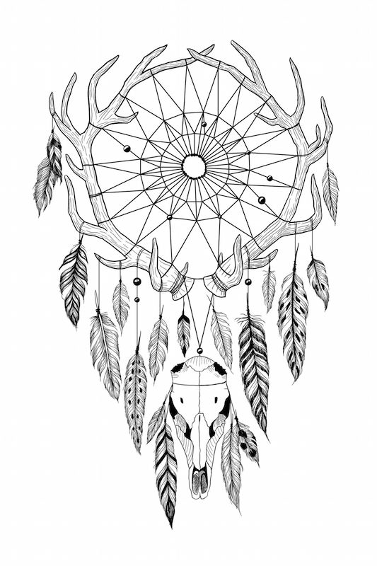 533x800 Dreamcatcher Tattoo Meaning