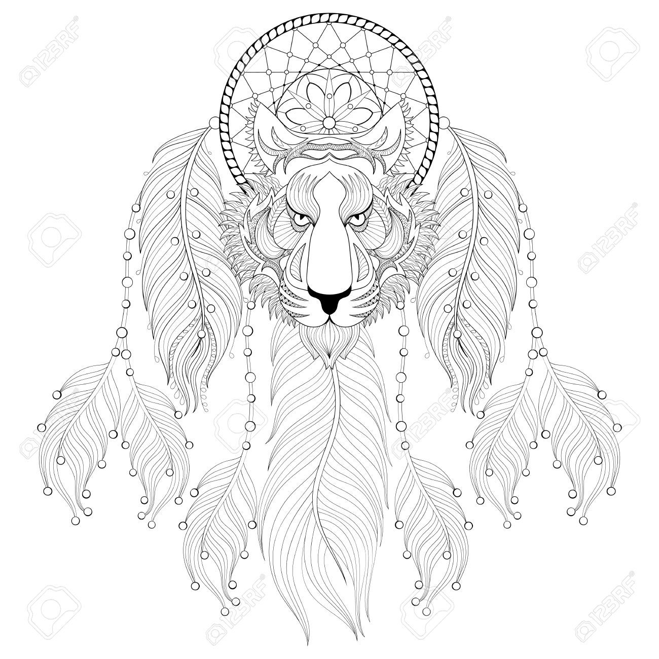 1300x1300 Appealing Dream Catcher Coloring Pages Bsta Bilderna Om