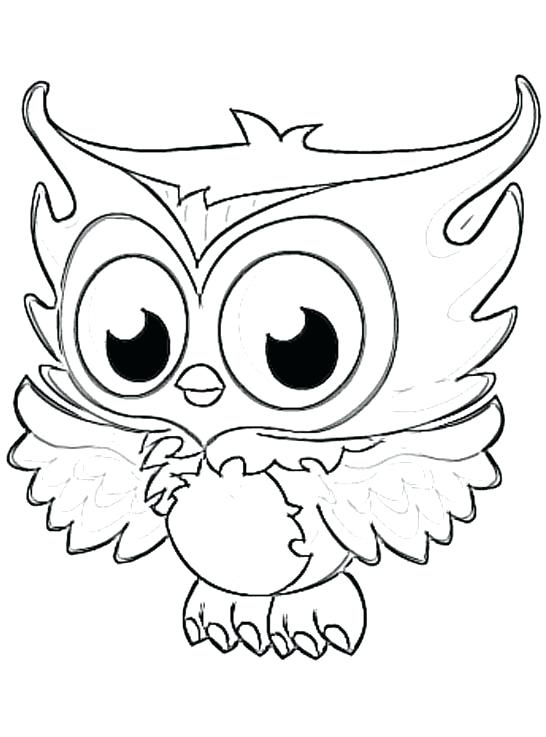 546x737 Cheap Owl Coloring Pages For Kids To Print Also Page Free As Well