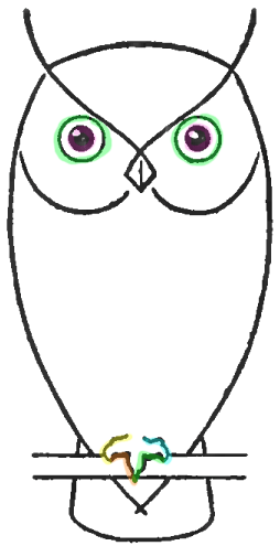 254x495 How To Draw Owls With Step By Step Drawing Lesson