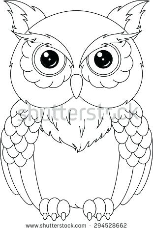 311x470 owl coloring best colorful owl ideas on cool drawings shining star - Owl Coloring