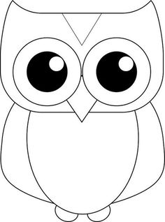 Owl Outline Drawing at GetDrawings | Free download