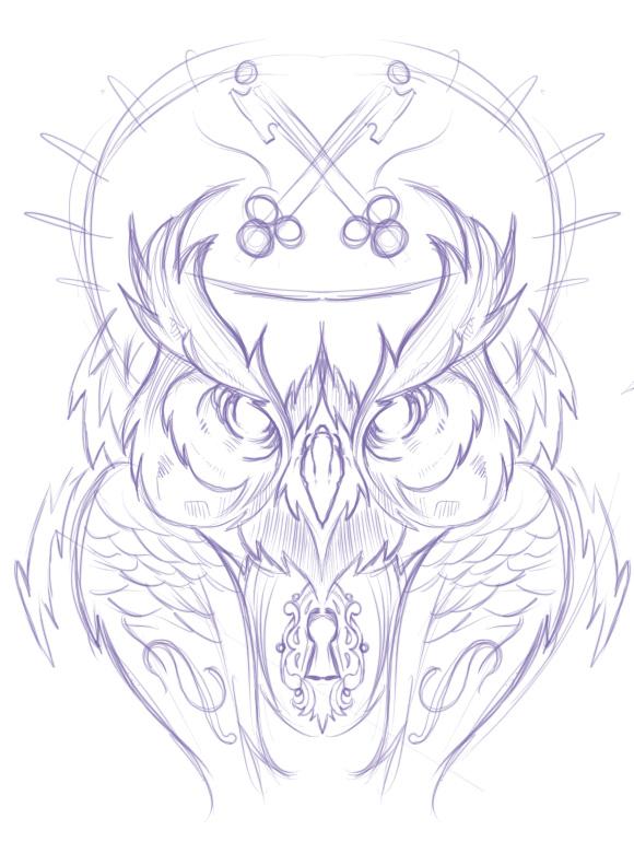 580x770 Hydro74 Joshua M. Smith Owls Tattoo, Tattoo