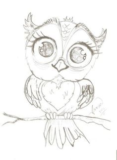 236x324 I Used A Gel Pen Quickly Sketched The Outline Of The Owl