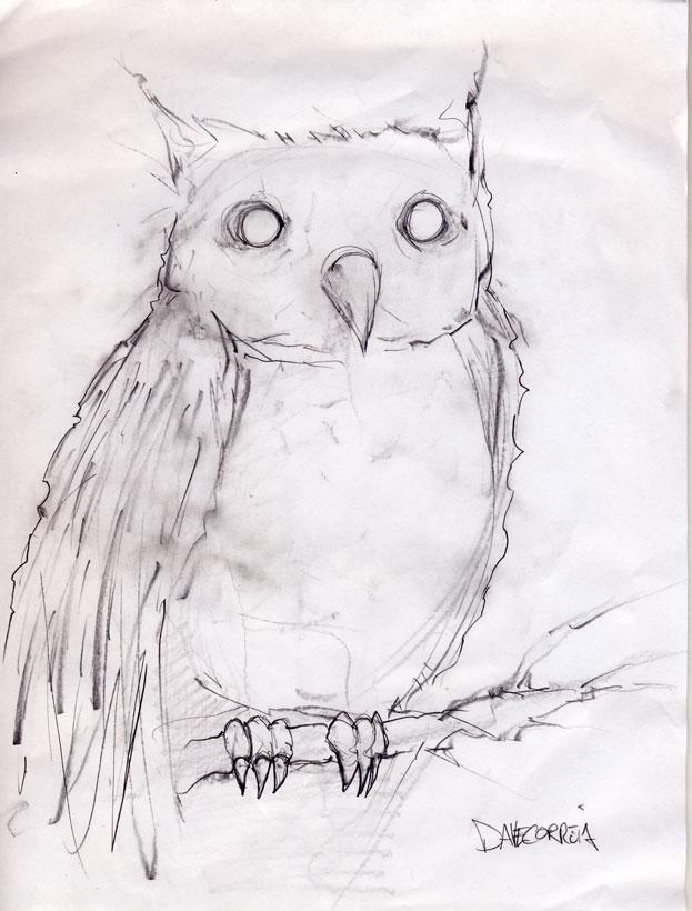 623x820 Brooks Blair Golden ~sketch For A Sketch Chicago!. Alex Pardee