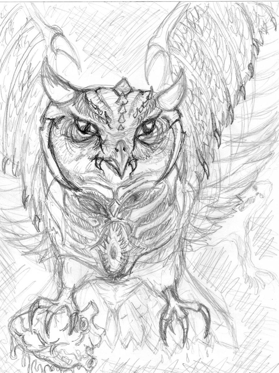 900x1202 Reaper Owl By Xxsinister Llamaxx