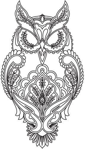 287x500 Looking Into Getting Vintage Looking Owl Tattoo. Owlsre