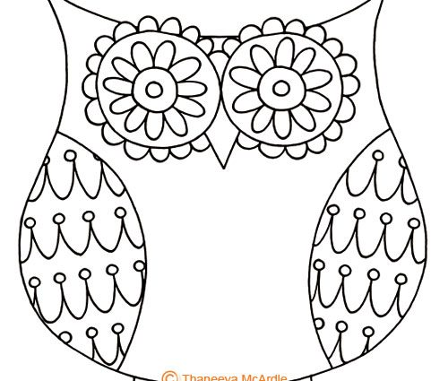 500x425 Steps To Draw A Owl How To Draw An Owl Learn To Draw A Cute