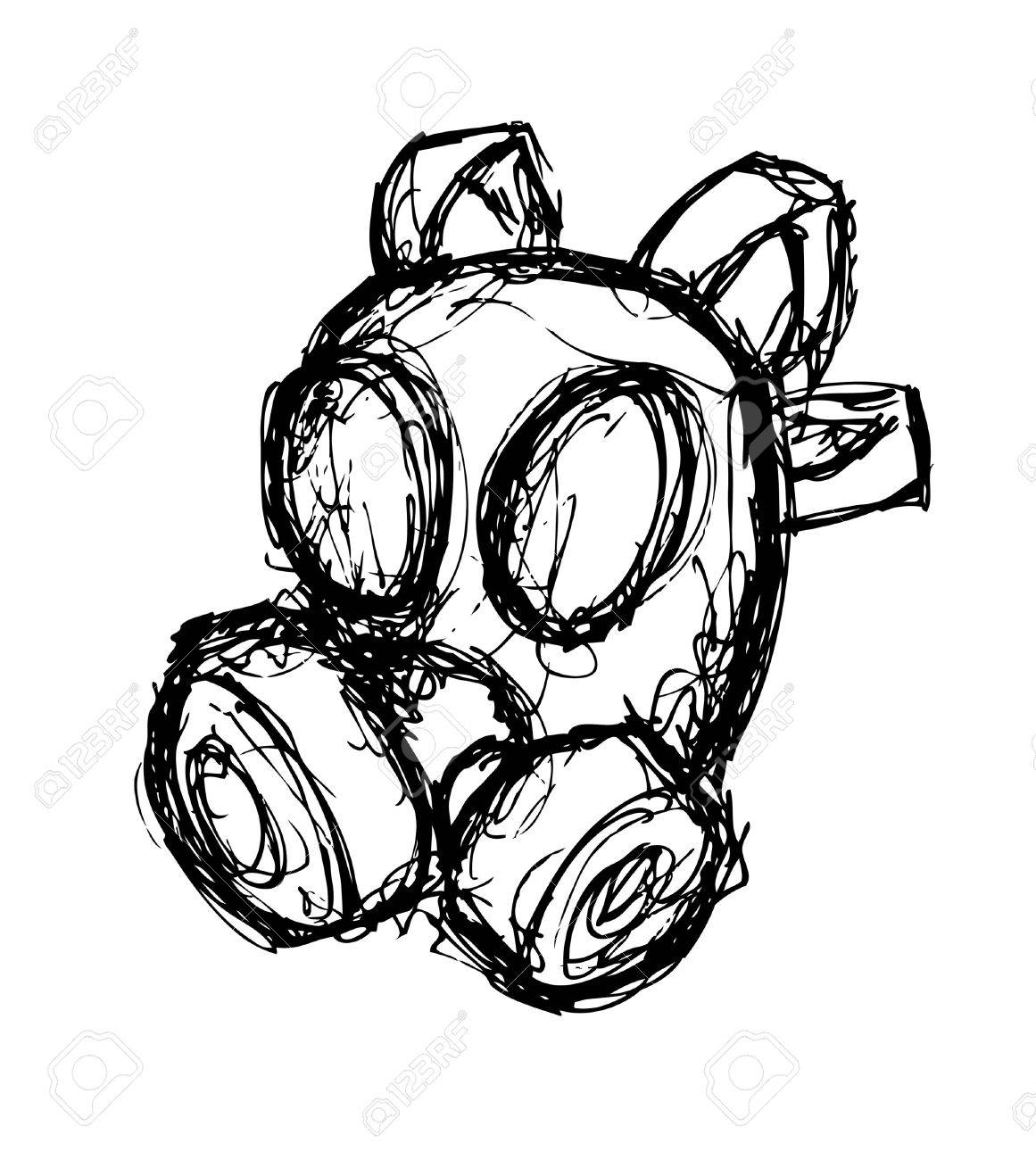 Oxygen Drawing At Free For Personal Use Molecule Diagram Images Pictures Becuo 1161x1300 Hand Drawn Mask Royalty Cliparts Vectors And Stock