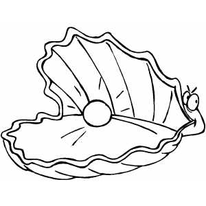 300x300 Oyster Coloring Pages