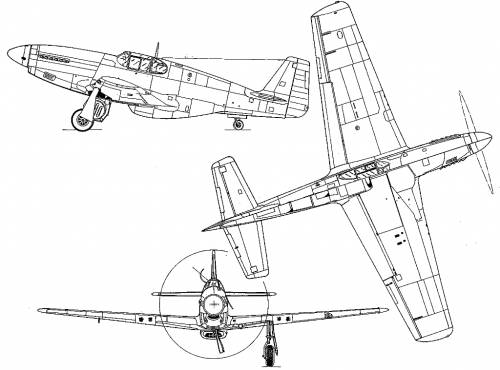 P 51 mustang drawing at getdrawings free for personal use p 51 500x370 the malvernweather Images