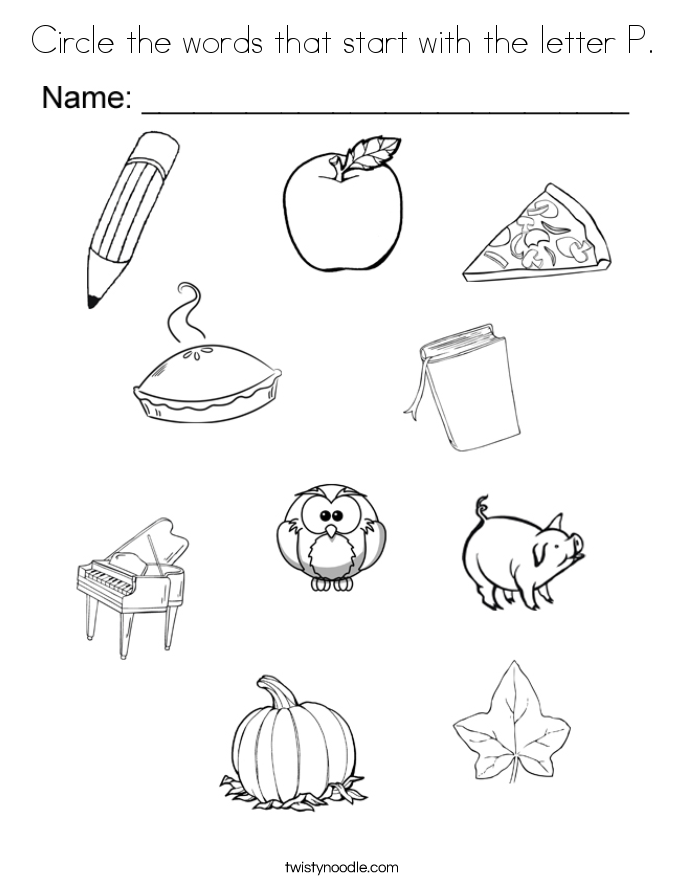 685x886 Letter P Coloring Pages