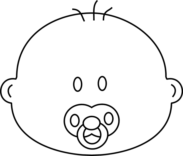 Pacifier Drawing at GetDrawings.com | Free for personal use Pacifier ...