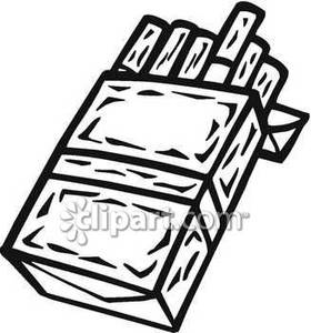 280x300 Sliding Out Of A Pack Royalty Free Clipart Picture