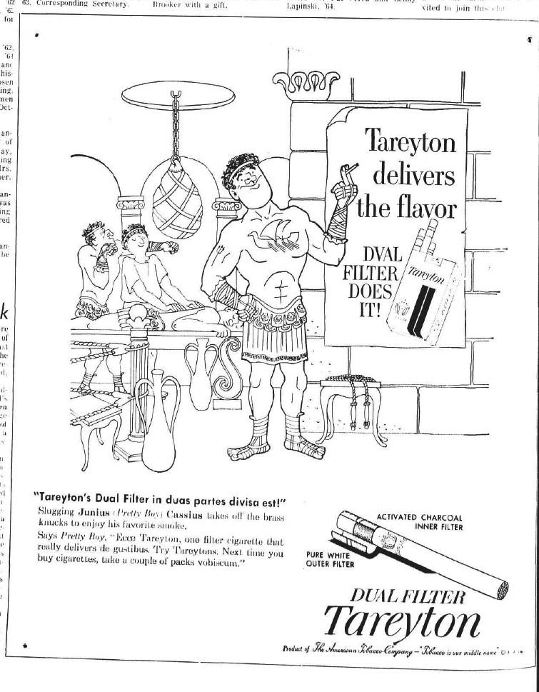 755x969 The Tareyton Cigarettes Anthro Pack Mascot Beach
