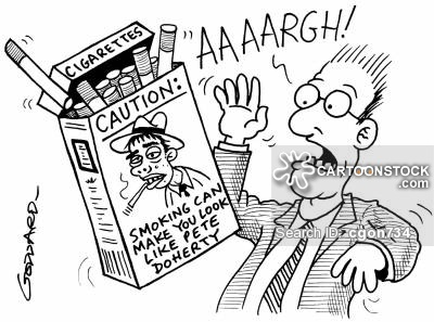 400x297 Cigarette Packaging Cartoons And Comics
