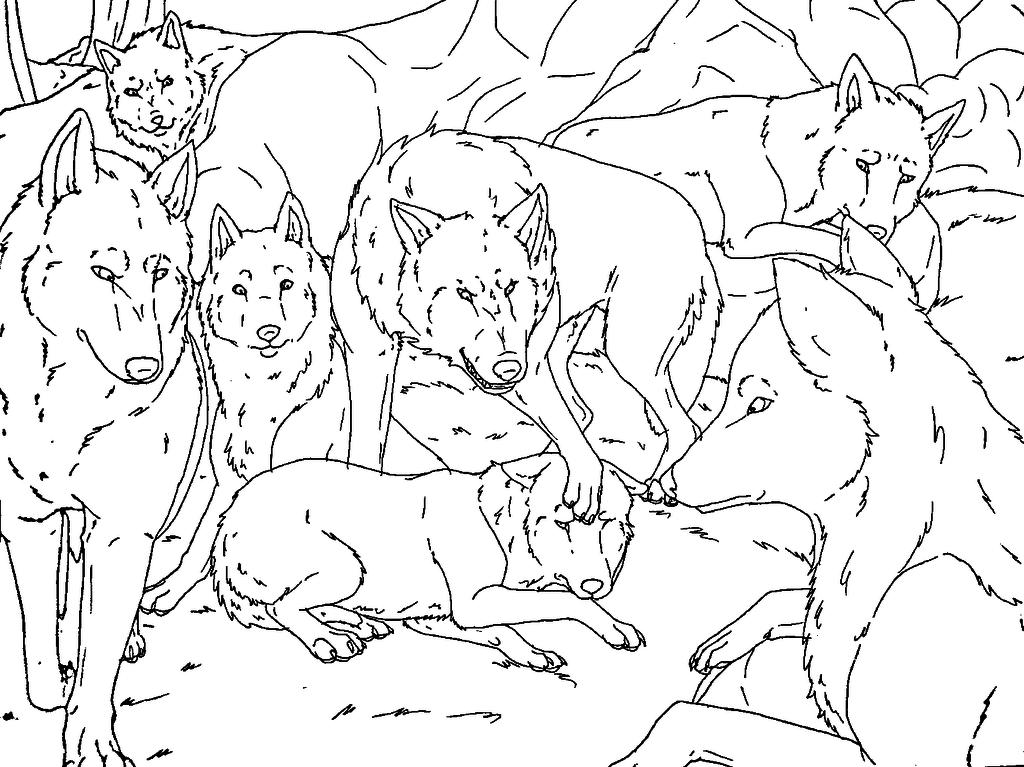 1024x767 Redrawn Wolf Pack Base 2 By Midnightflaze