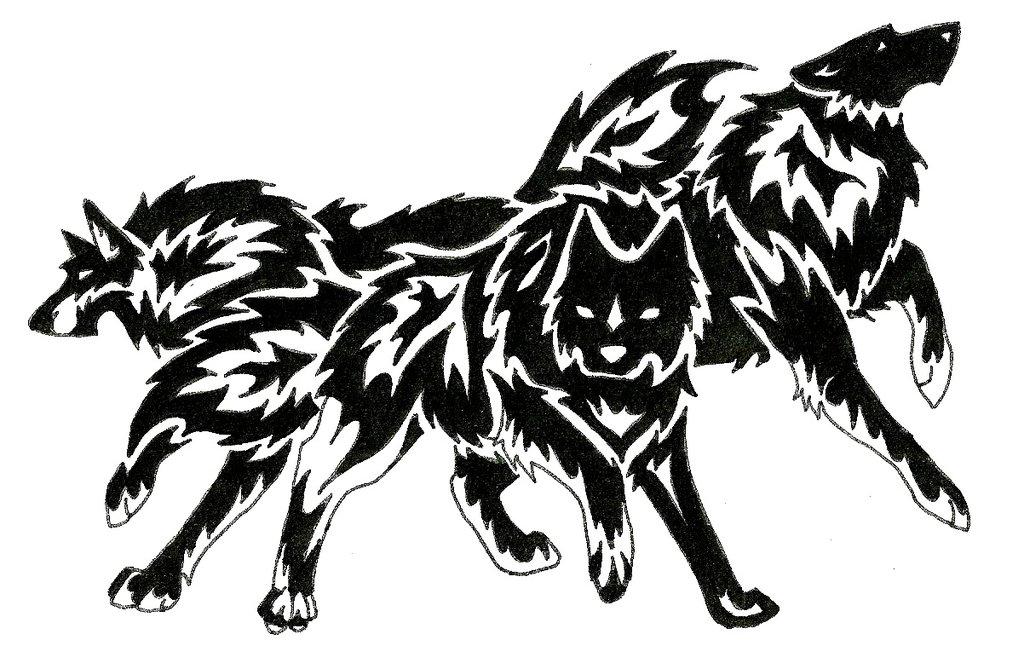 1024x663 Wolf Tattoo Art Trade By Redsoulwolf13