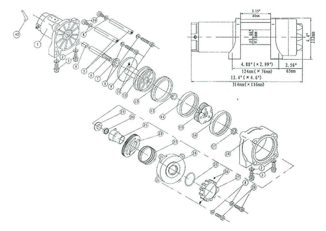 3000 Warn Winch Wiring Diagram