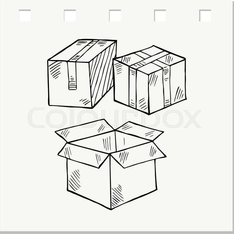 Package Drawing At Getdrawings Com
