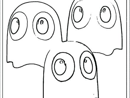 440x330 Pacman Coloring Pages Joandco.co