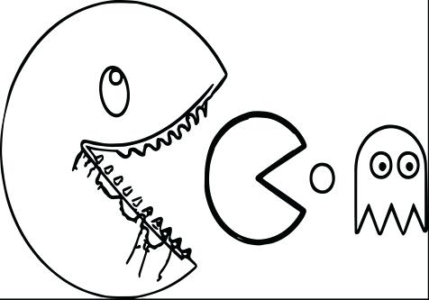 476x333 Pacman Coloring Pages Back To Post Pac Man Coloring Pages To Print
